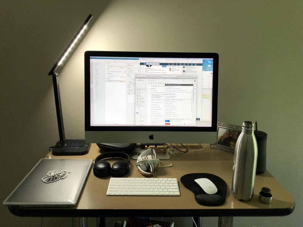 Photo of Mindi's workspace